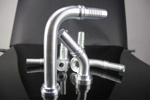 1 inch elleboog Orfs vrouwelijke lange-drop eendelige hydraulische montage
