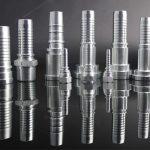 6 mm: n hydrauliletkuasennusterä nippa urosnippa
