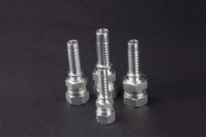 22611D BSP Female 60 Degree Cone Double Hexagon Fittings
