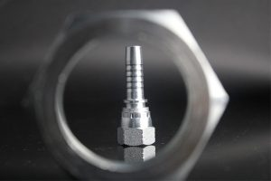Interlock Hose Fitting For Metric, BSP, BPT, NPSM, ORFS, JIC, GAS, SAE, Double Connection