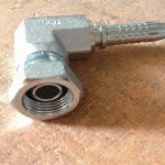 Codo sin llave Grp de acero inoxidable tubería de montaje de manguera de conexión hembra compacta de codo