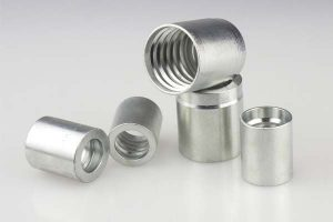 Carbon Steel 03310 Hydraulic Female Threaded Ferrule For SAE 100 R2AT/EN 853 2SN Hydraulic Hose