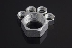 China Manufacturer High Quality Heavy Type Retaining Nut