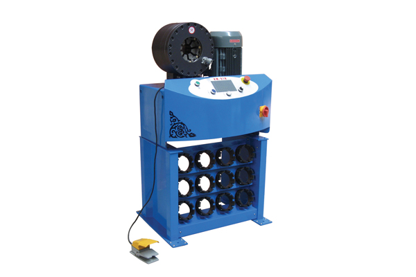 High Pressure Hydraulic Hose Crimping Machine For Small Business Promotion