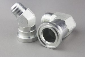 Sae Flansch-Hydraulikschlauch-Fitting Hydraulic Adapter Flange Pipe Fitting