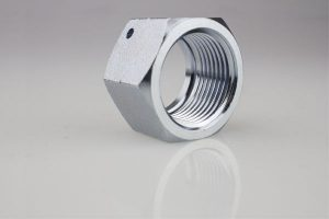 Supply Eaton DIN Series Hexagonal Nut Hydraulic Pipe Fittings With Retaining Nut