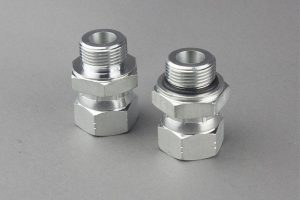NPSM Pipe Swivel Fittings Stainless Steel Hydraulic Fittings