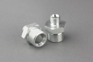 90 Elbow Orfs Male / Bsp Male O-ring hydraulische adapter
