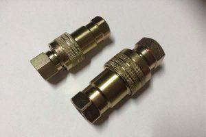 Aço de alta qualidade ISO A acoplamentos rápidos hidráulicos