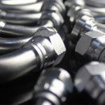 accesorios de tubería hidráulica de codo giratorio